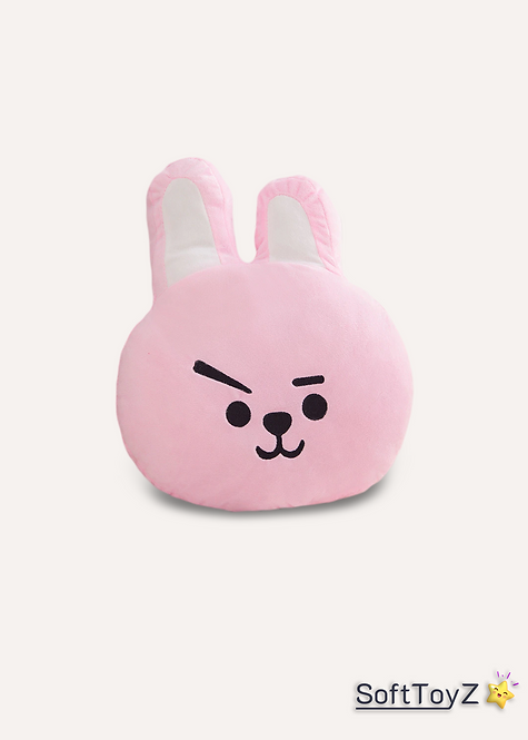Stuffed Bunny Animal Pillow   SoftToyZ