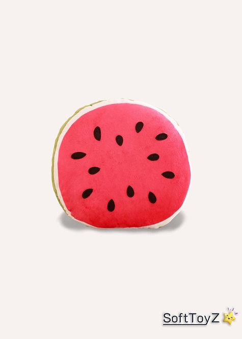 Big Amuseable Watermelon Plush Toy   SoftToyZ