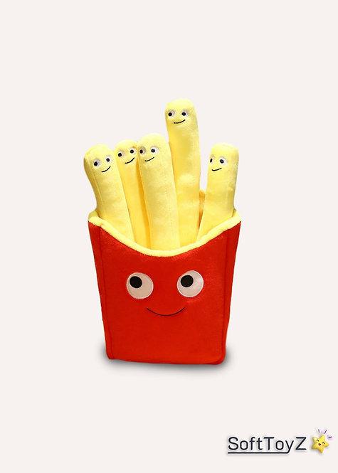 Large Plush French Fries | SoftToyZ
