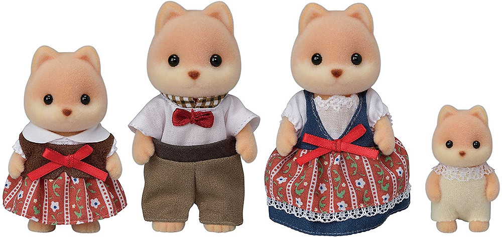 small animal dolls calico critters toys for kids