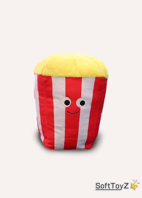Food Plush Popcorn Pillow | SoftToyZ