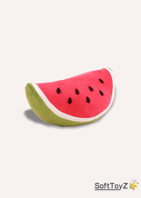 Amuseable Half Watermelon Plush Toy | SoftToyZ