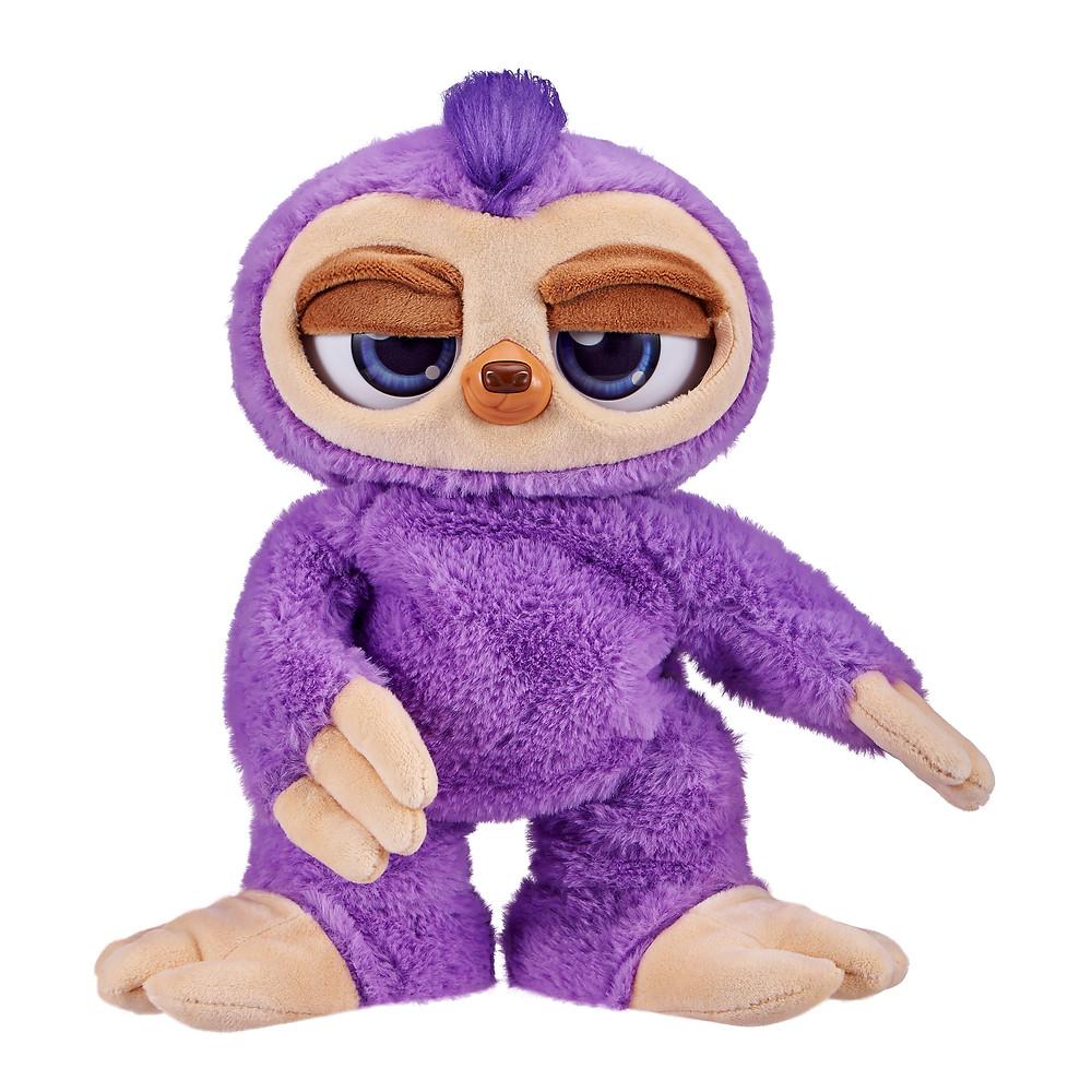 Purple dancing sloth Fifi floss dancing for kids