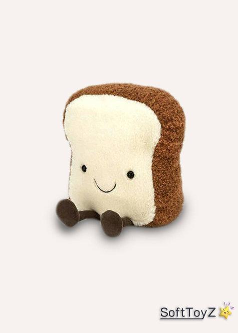 Jellycat Amuseable Toast-Bread Food Plush | SoftToyZ