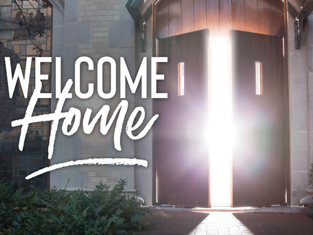 Welcome Home! You Are Part of Christ's Glorious Kingdom!