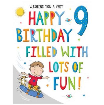 Rainbow Range -Birthday -Age 9