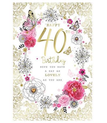 Birthday - Age 40