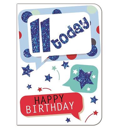 Birthday - Age 11