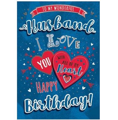 Anniversary - Husband (Boxed Card)
