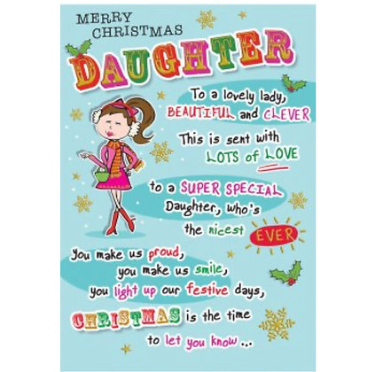 Christmas - Daughter
