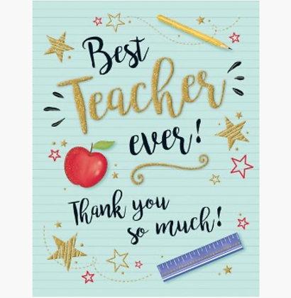 Gold Dust Range -Thank you - Teacher