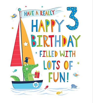 Rainbow Range -Birthday - Age 3