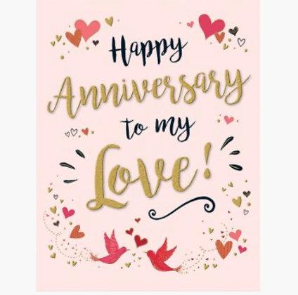 Gold Dust Range -Anniversary - Husband / Wife