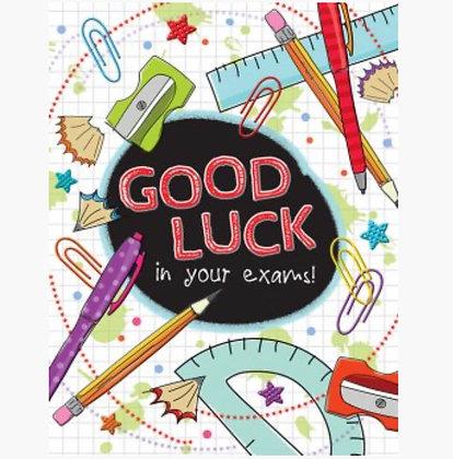 Good Luck - Exams
