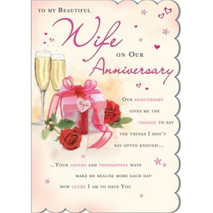 Anniversary - Wife