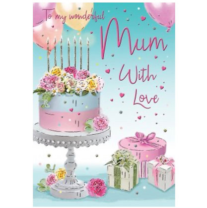 Special Thoughts Range -Birthday - Mum