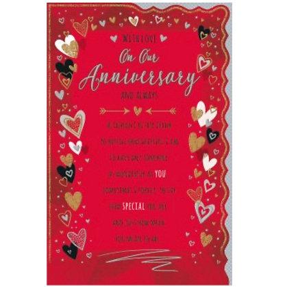 Anniversary - Husband / Wife Large
