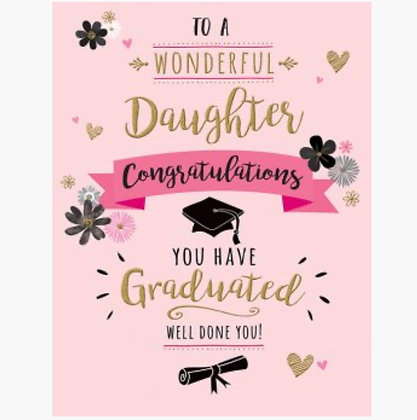 Graduation - Daughter