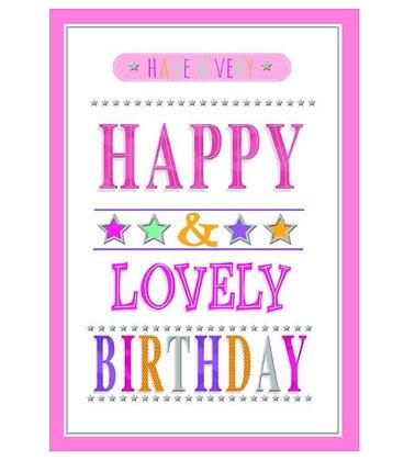 Birthday - Open