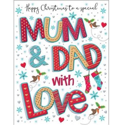 Christmas - Mum & Dad