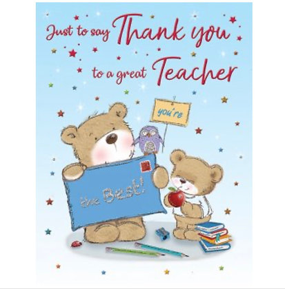 Thank you - Teacher