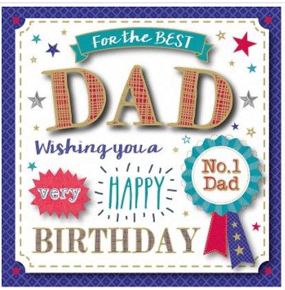 Birthday - Dad     (Boxed Card)