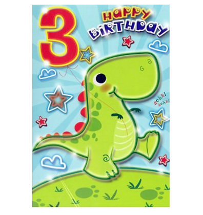 Birthday - Age 3