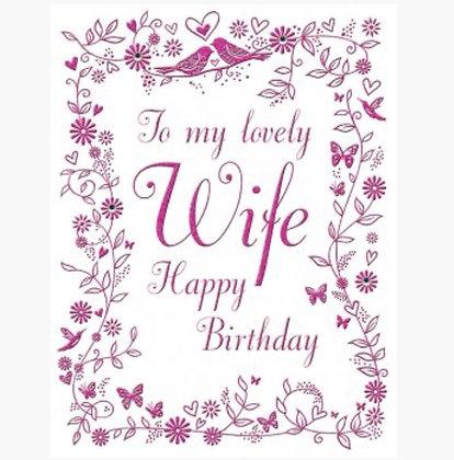 Birthday - Wife
