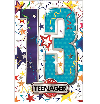 Birthday - Age 13