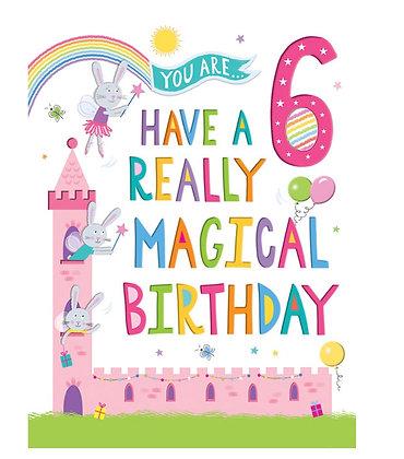 Rainbow Range -Birthday - Age 6