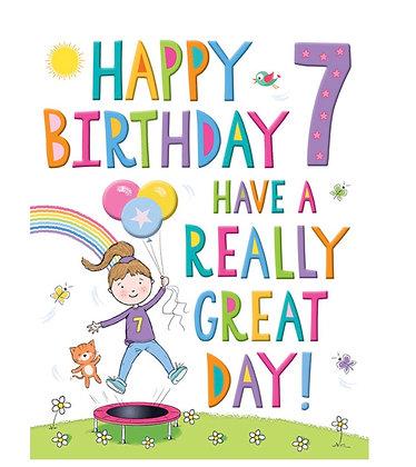 Rainbow Range -Birthday - Age 7