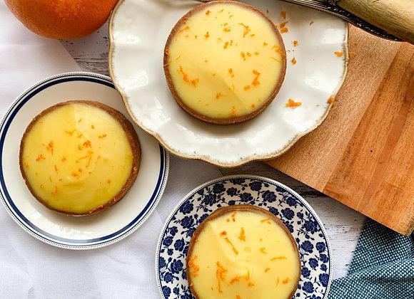 Tartelette orange