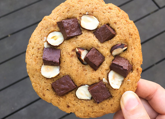 Cookie chocolat noisette