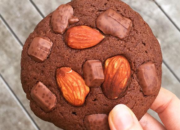 Cookie chocolat & amande