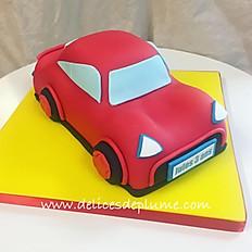 Gâteau pâte à sucre sculpté