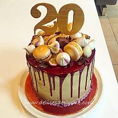 """Layer cake """"drip cake"""""""