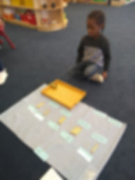 Learning at Park Montessori School