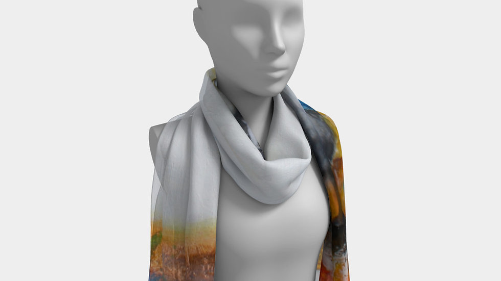 Take a Royal Gander - Long Scarf