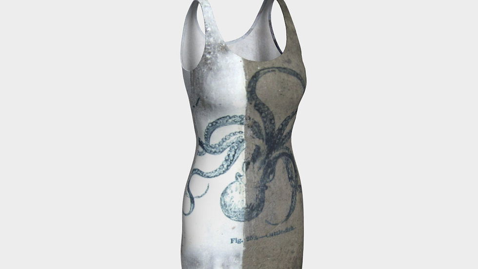 Cuttle Fish Abstraction - Dress
