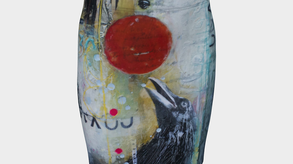 Sacred Jewel - Fitted Skirt