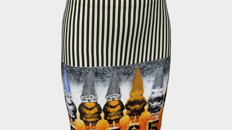 The Usual Suspects - Fitted Skirt