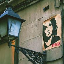 Plakat på veggen