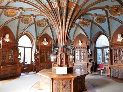 Bibliothek der Königin, Schloss Marienburg. Copyright Christine Fiedler