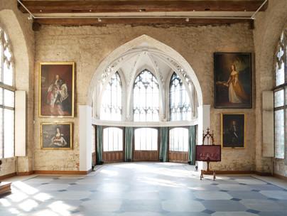 Speisesaal, Schloss Marienburg. Copyright Christine Fiedler