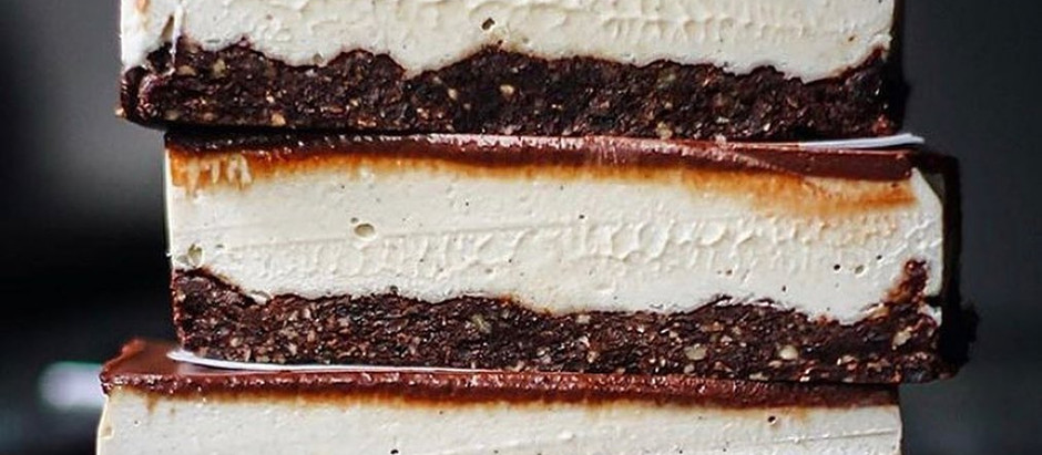 Silky Smooth Cacao and Vanilla Bean Slice