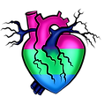 Pride Heart Polysexual