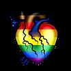 BIPOC LGBTQIA+ Heart