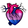 Pride Heart Bi