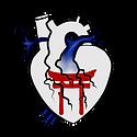 Religion Heart Flag