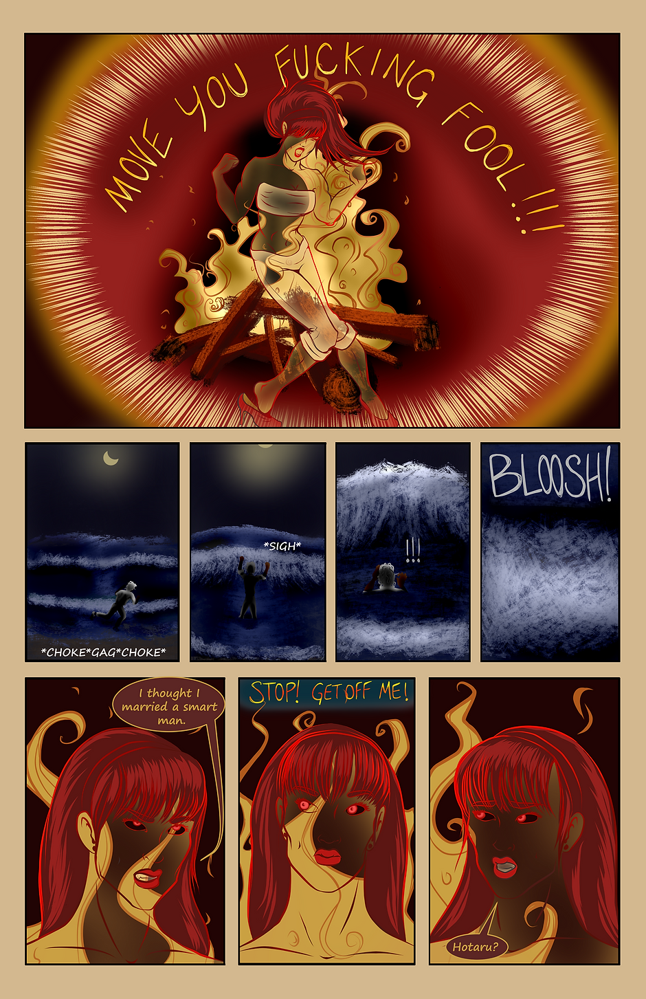 Eternity: Hotaru webcomic page 193